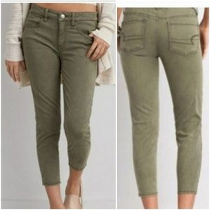 American Eagle Cropped Super Super Stretch Jegging